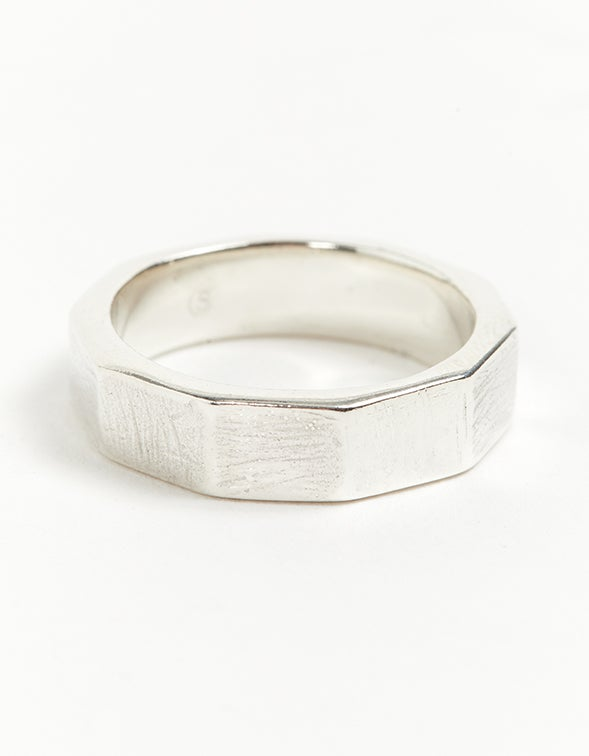 Nona Band Ring - Sterling Silver
