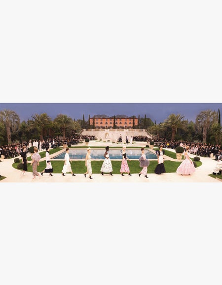 Lagerfeld - The Chanel Show - White