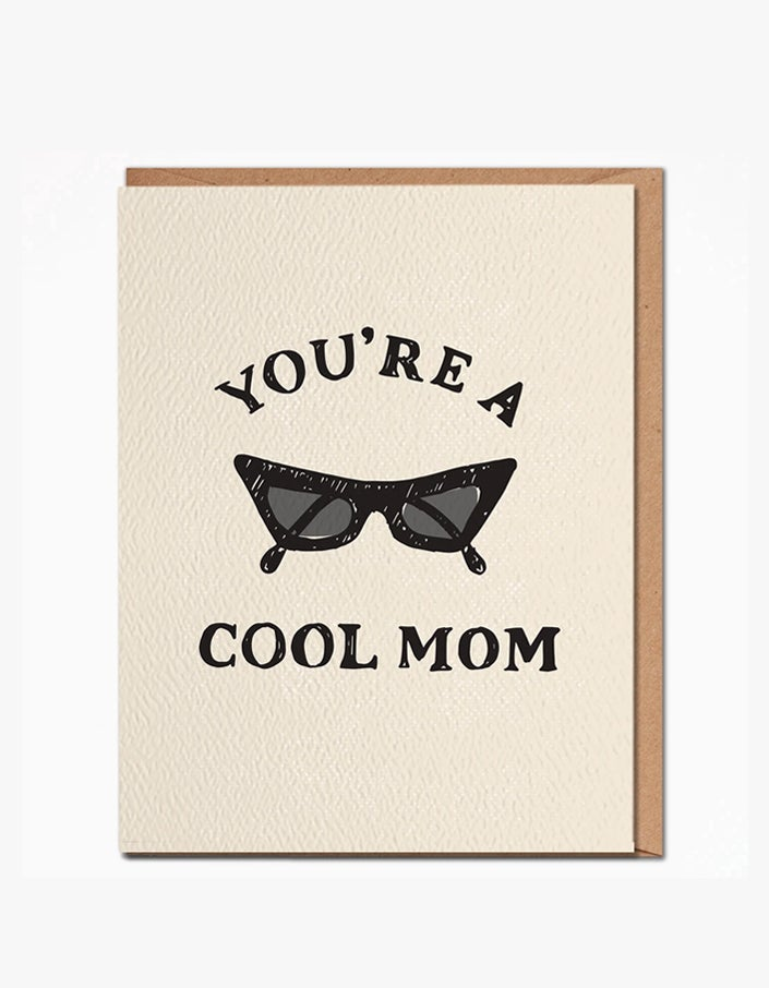 Cool Mom Card - Ivory
