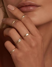 Devotion Ring - Gold Plated