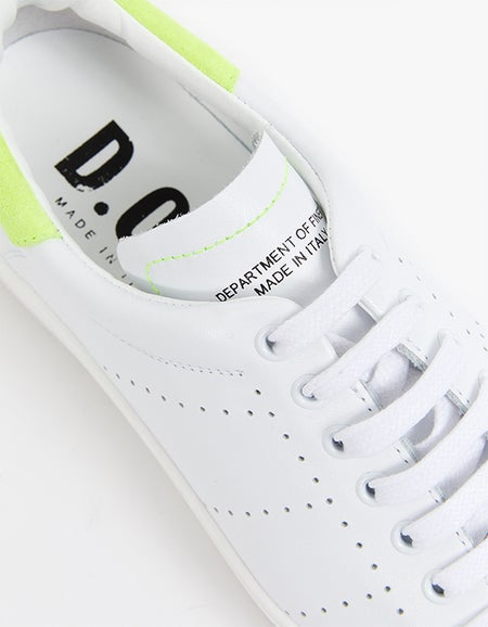 Tommy - White/Neon