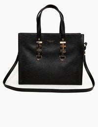 The Lilly Carryall Tote - Silver