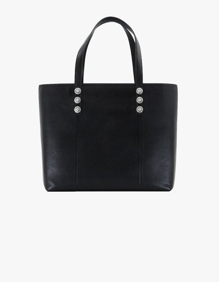 The 218 Tote - Black/Light Gold
