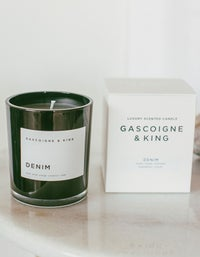 Luxury Candle Tobacco & Musk - Black