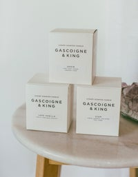 Luxury Candle Jasmine & Gardenia - White