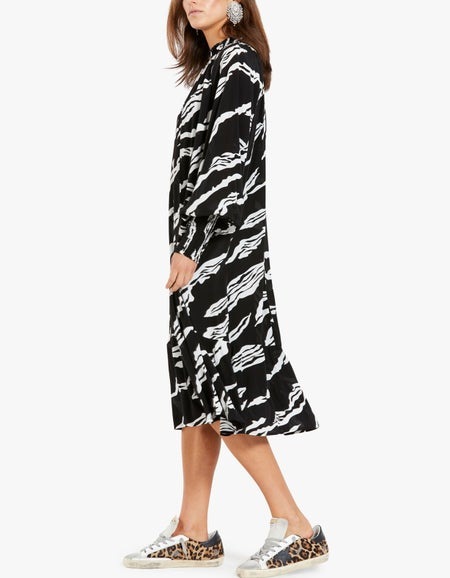 ZohaGZ Dress - Black Scratch