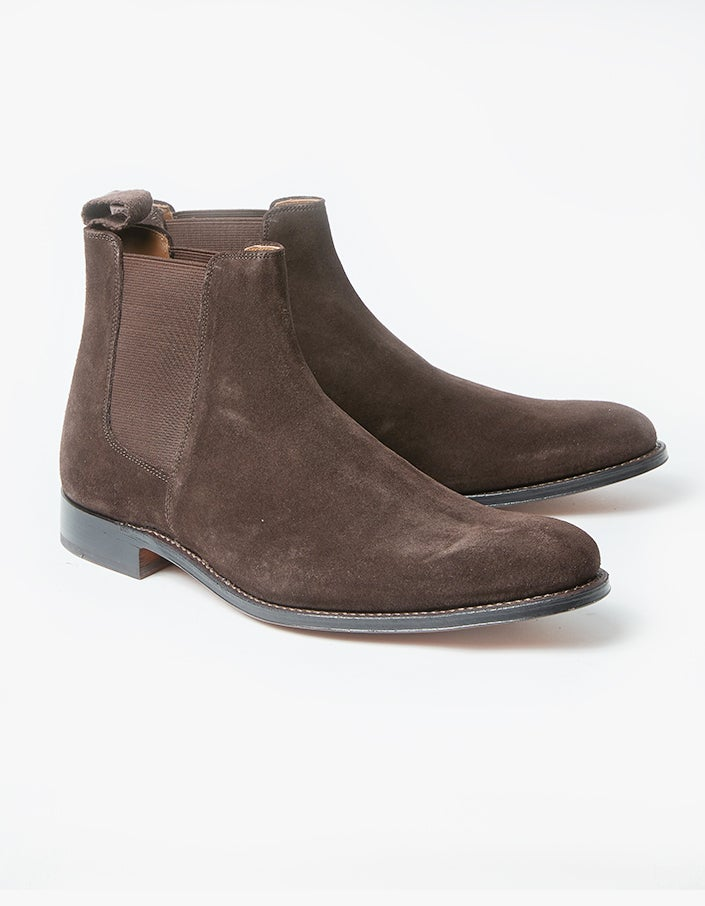 Declan Boot - Chocolate Suede