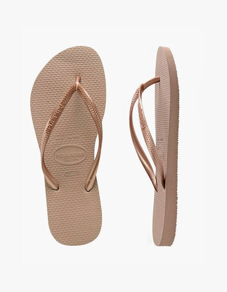 Slim Jandal - Rose Gold