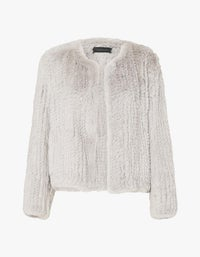 Elle Jacket - Nude Blush