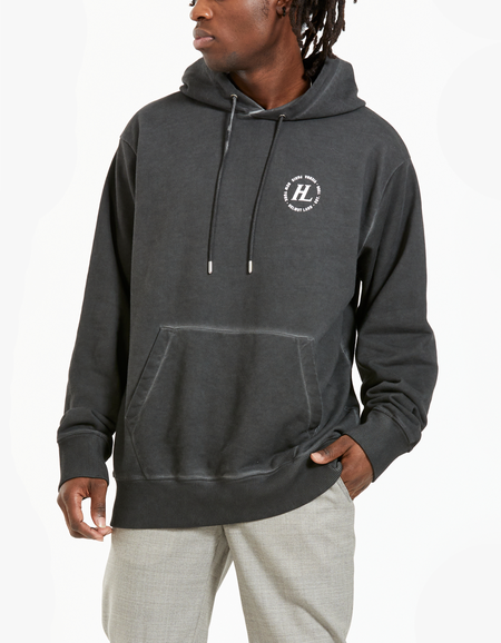 Overdyed Terry Hoodie - Charcoal