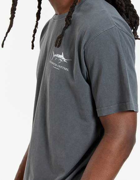 Bluewater Critters Tee - Aged Black