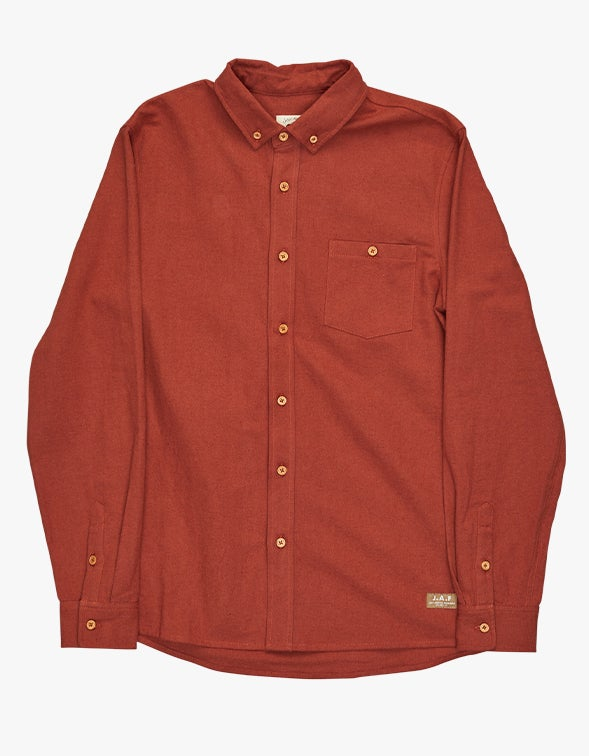 Anchorage Shirt - Rust