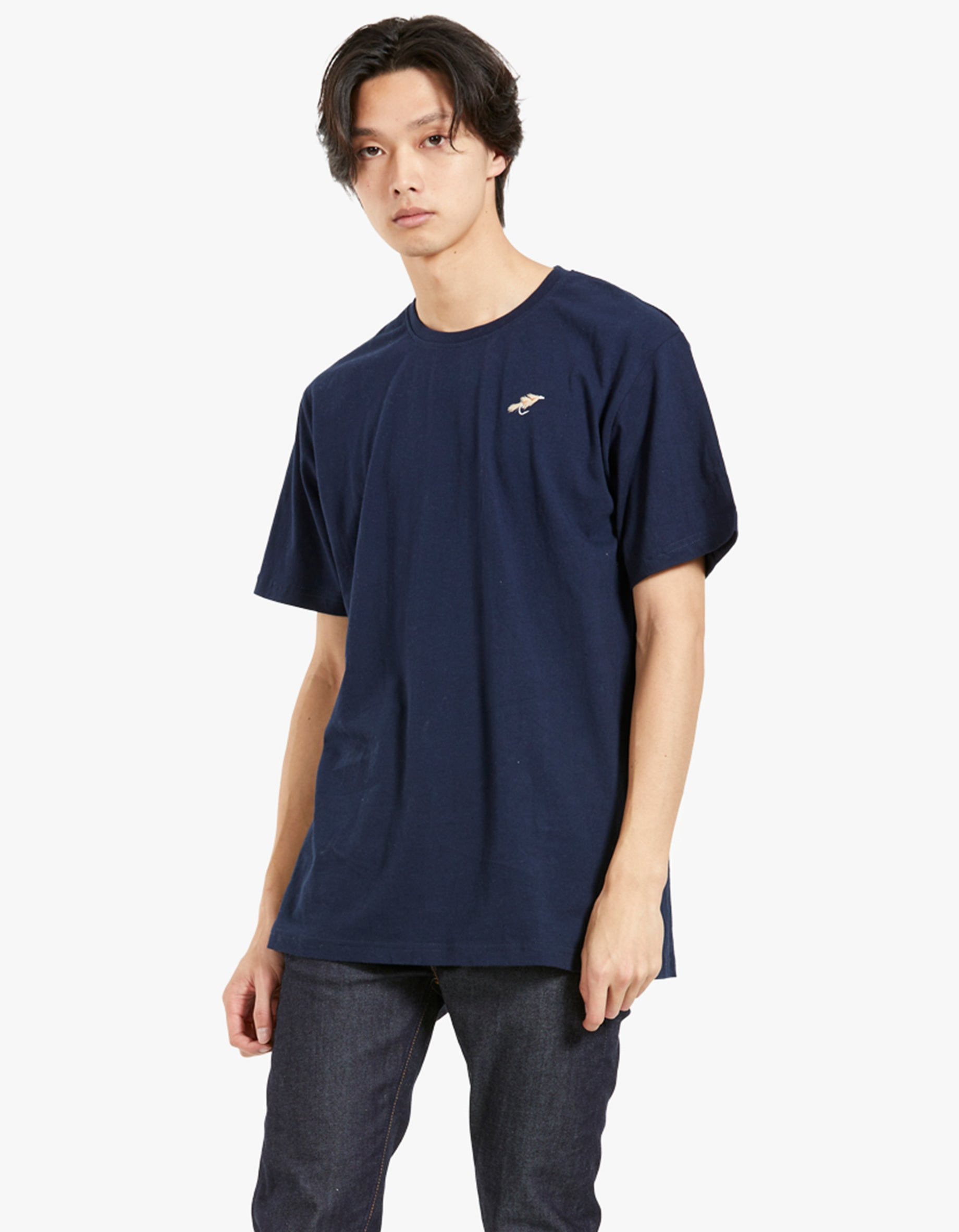 Fly Chest Tee - Navy