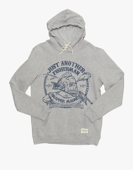 Snapper Madness Hoodie - Grey Marle