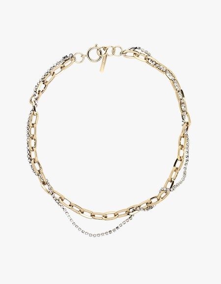Kirsten Necklace - Pale Gold