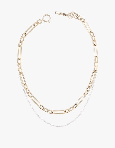 Paloma Necklace - Pale Gold Plated