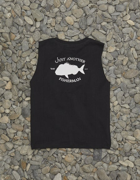 Mini Snapper Logo Tank - Black