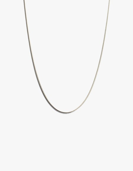 Snake Chain - Sterling Silver