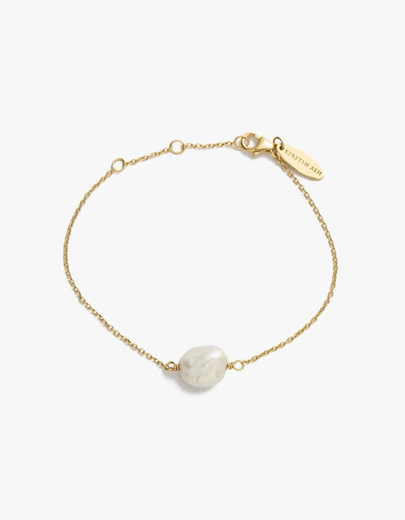 Pearl Bracelet - Gold Plated