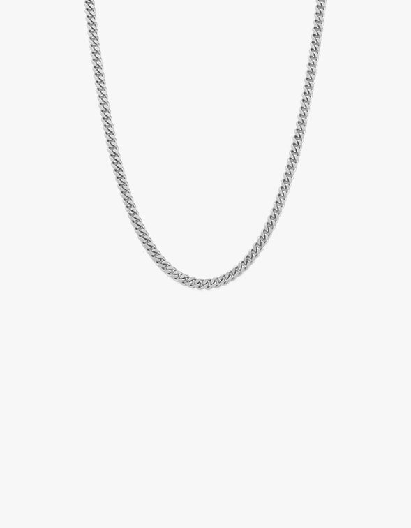 Glow Chain Necklace - Sterling Silver