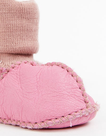 Baby Booties - Pinkie