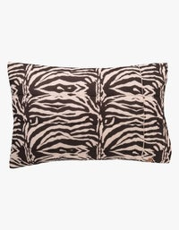 Quilted Pillowcase Set - Zebra Crossing