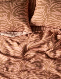 Linen King Quilt Cover - Madagascar Earth