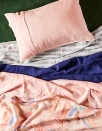 Linen King Quilt Cover - Wrong Side Of The Tracks