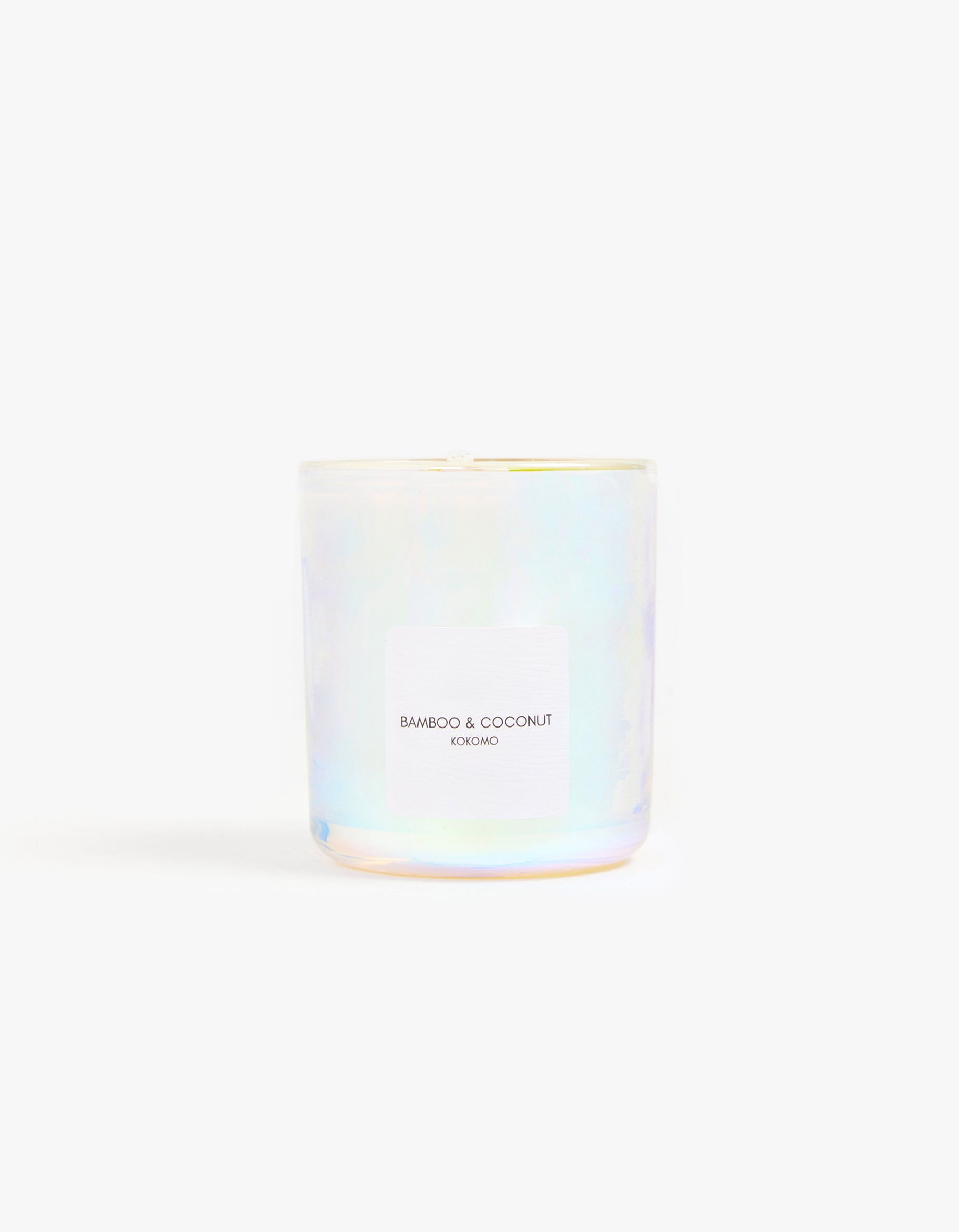 Bamboo & Coconut Candle - Holographic