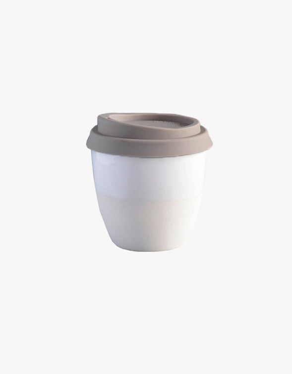 Reusable Takeaway Cup 8oz - Classic White