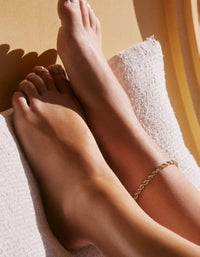 Ibiza Anklet - Gold Plated