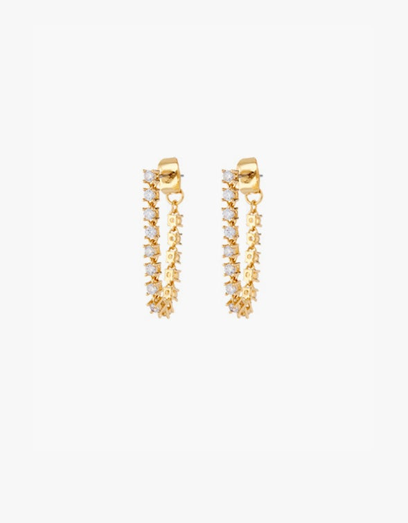 Ballier Chain Studs - Gold Plated