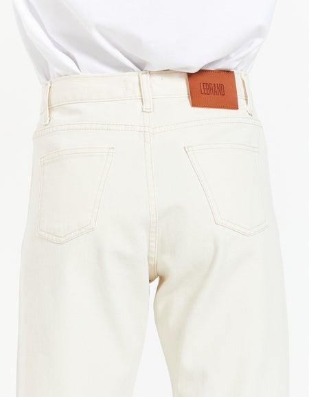 Classic Jeans - Off White