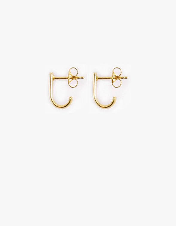 Cuff Hoop - Gold Plated