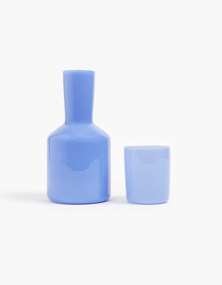 Carafe and Glass - Opaque Mint