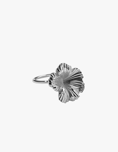 Coral Ring - Silver