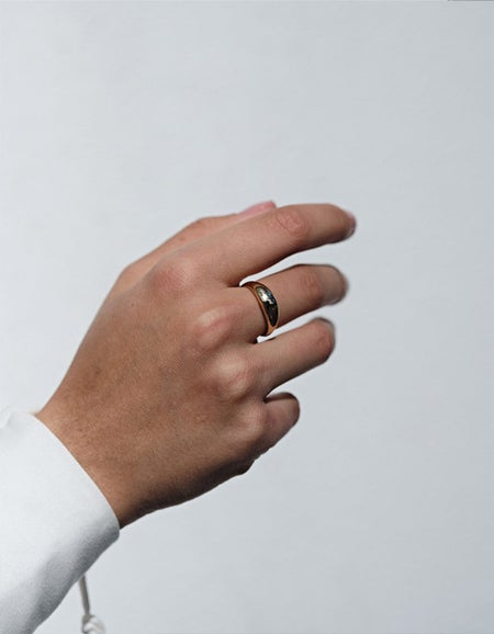 Claude Ring - Gold Plated