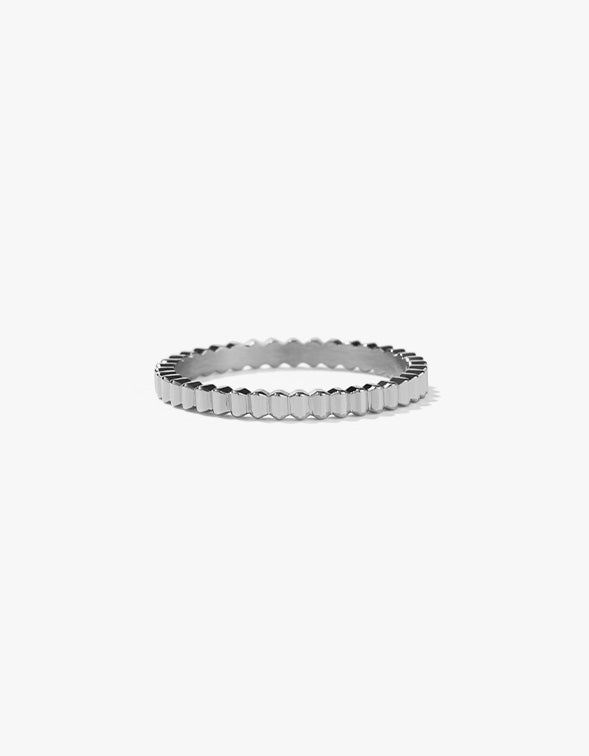 Solaire Band Narrow - Sterling Silver