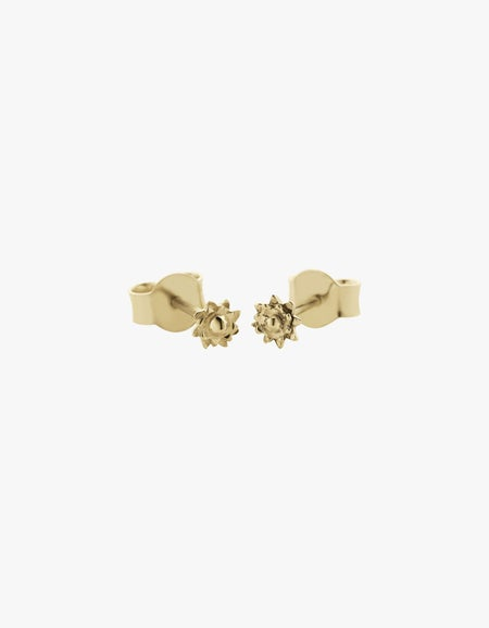 Protea Micro Studs - Gold Plated