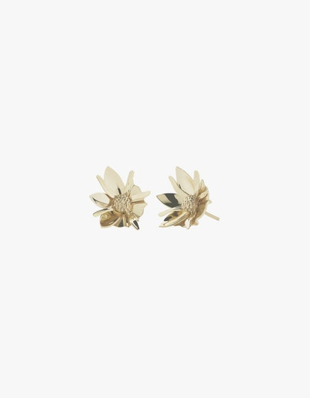 Wildflower Earrings - Gold Plated