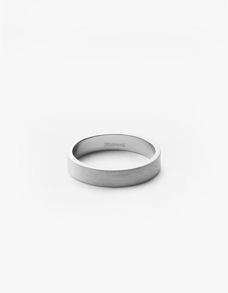 4MM Band - Sterling Silver