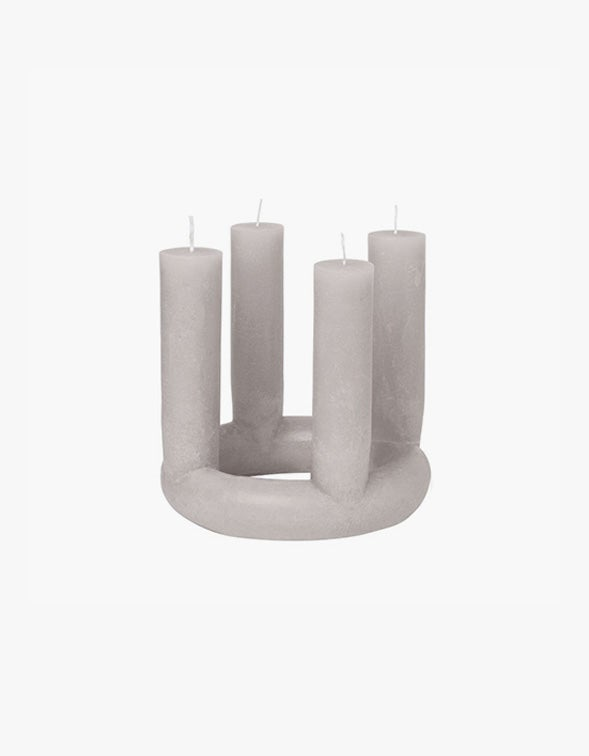 Lucia Candle - Grey