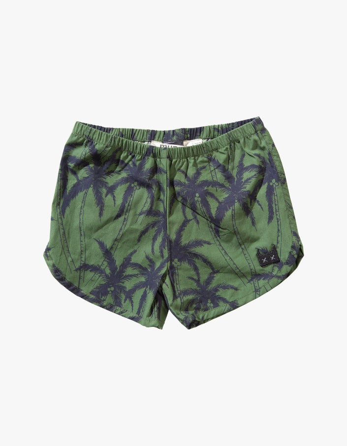 Coconuts Short - Palm Yargade Olive