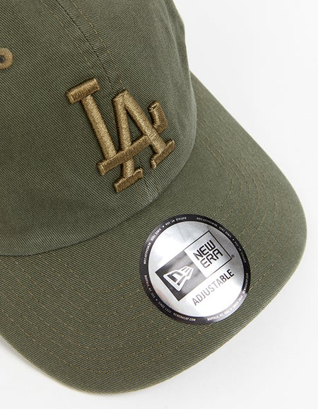 Los Angeles Dodgers Casual Classic Strapback - Washed Olive