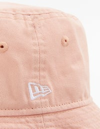 New Era Bucket Hat - Washed Blush Sky