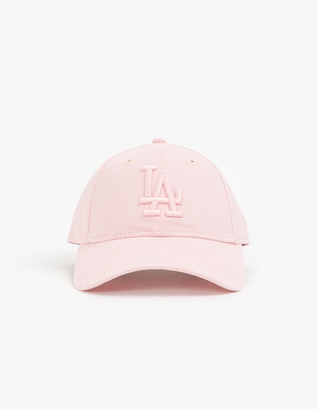 Los Angeles Dodgers 9FORTY Strapback - Pink Overdye/Tonal