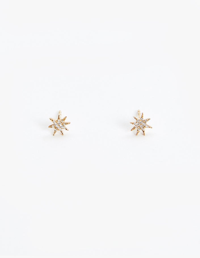 Star Earrings - Gold Plated