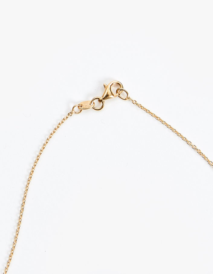 Star Diamond Necklace - Gold Plated