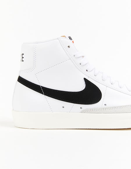Mens Blazer Mid 77 Vintage - White/Black