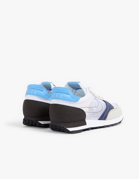 Mens Nike DBreak Type - White/White University/Blue/Velvet Brown